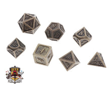 Polyhedral Steel Dungeons and Dragons Dice
