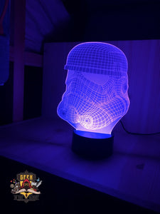 Stormtrooper 3D Night Lamp