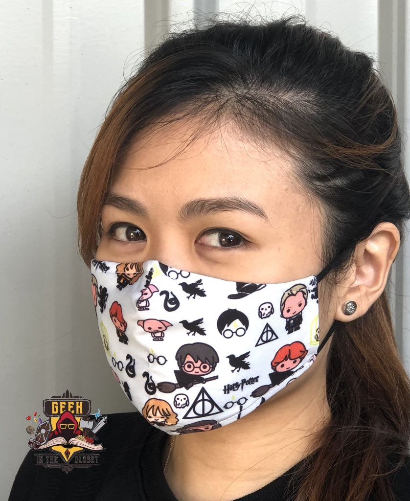 Harry Potter Chibi Geek Fashion Face Mask