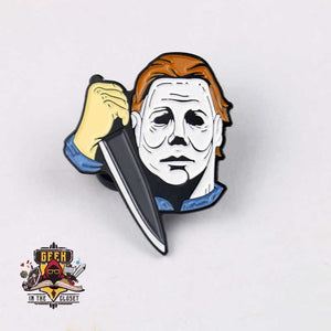 Halloween Mike Myers Steel Geeky Pin