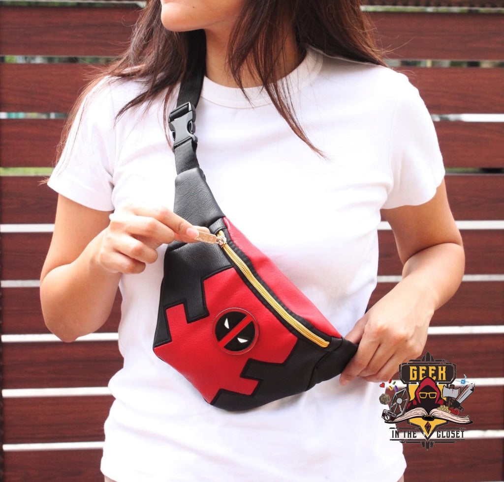 Deadpool Fanny Pack Bag