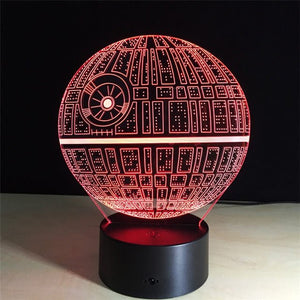 The Death Star 3D Night Lamp