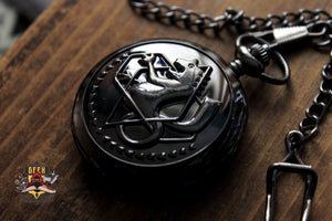 Fullmetal Alchemist Anime Edward Elric Pocket Watch