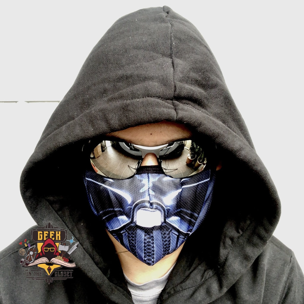 Reusable and Washable Darth Vader Face Mask