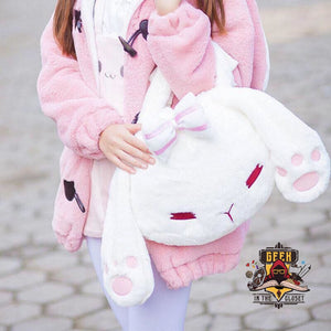 Kawaii Bunny Plush Bag Bags