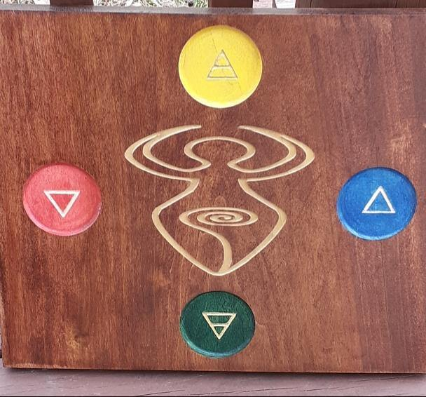 Solid Wood Working Altar - 9-energy.myshopify.com