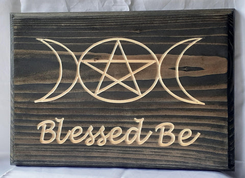 Blessed Be Wall Art - 9-energy.myshopify.com