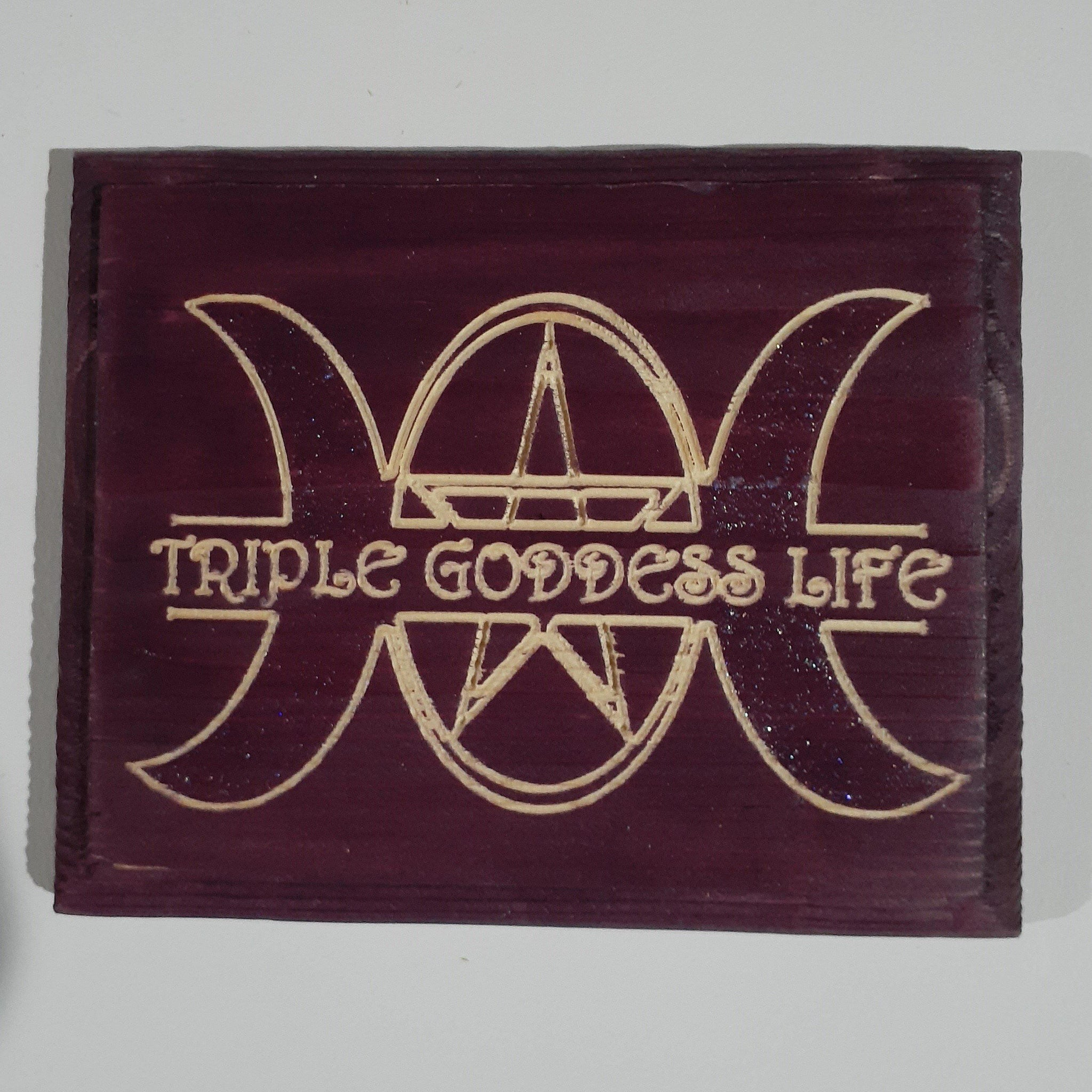 Triple Goddess Life Wall Art - 9-energy.myshopify.com