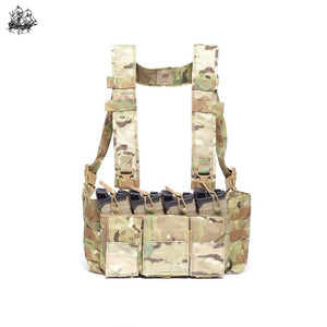 5.56 Hybrid Chest Rig Coyote Brown / Standard H-Harness Rigs