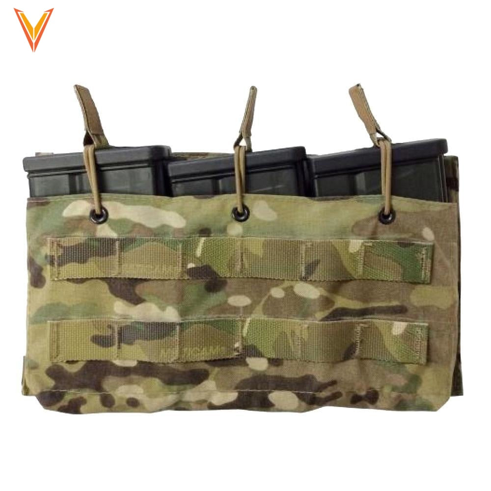 Helium Whisper® Triple Hk417 Magazine Pouch Open Top Multicam Pouches