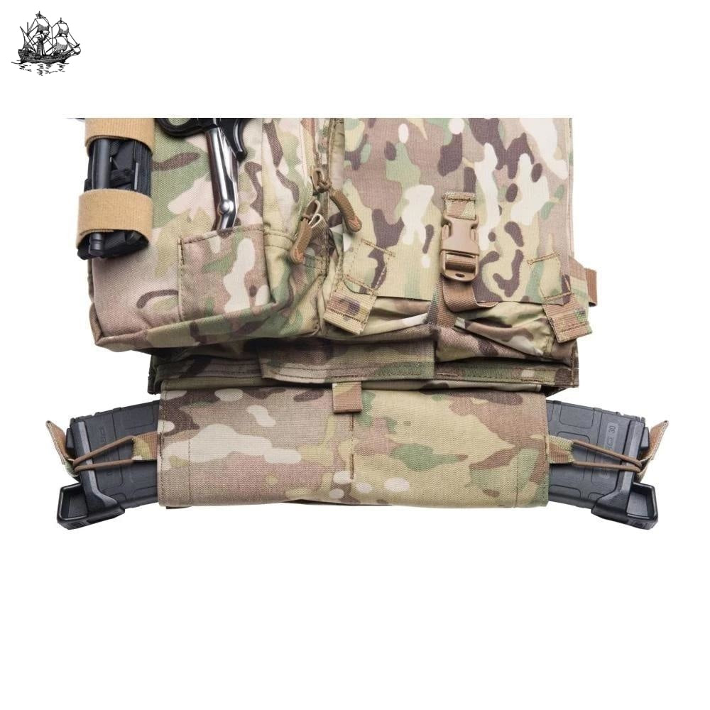 Horizontal Rear 5.56 Magazine Pouch Multicam Pouches