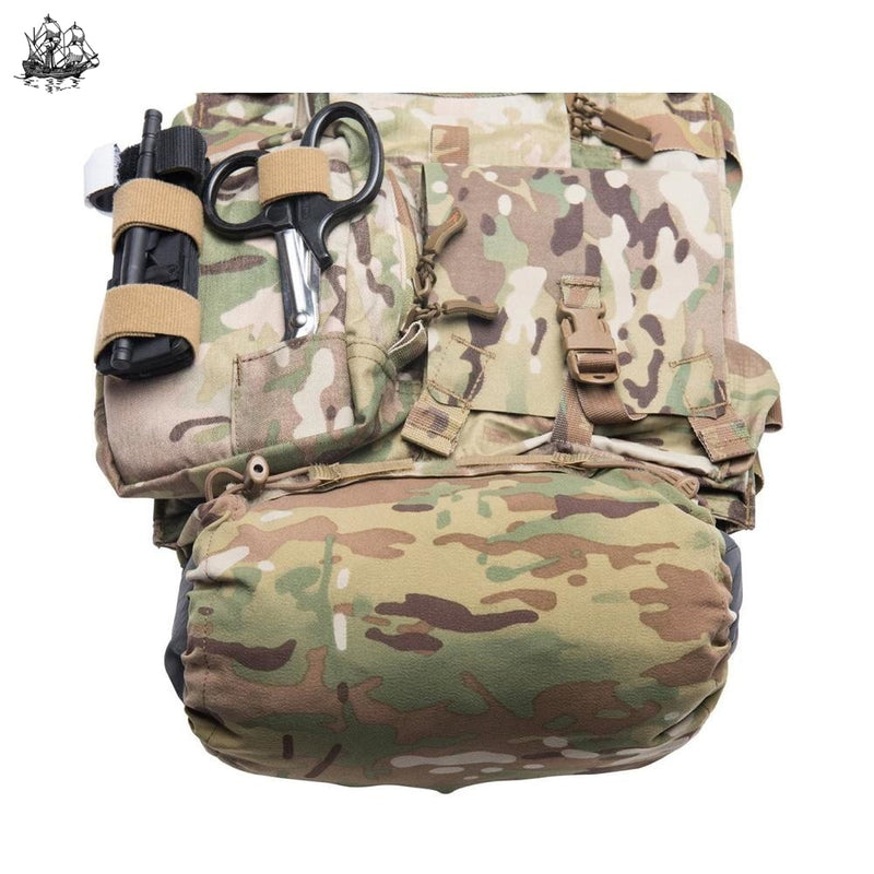 Jacket Stash Pocket Multicam Bags