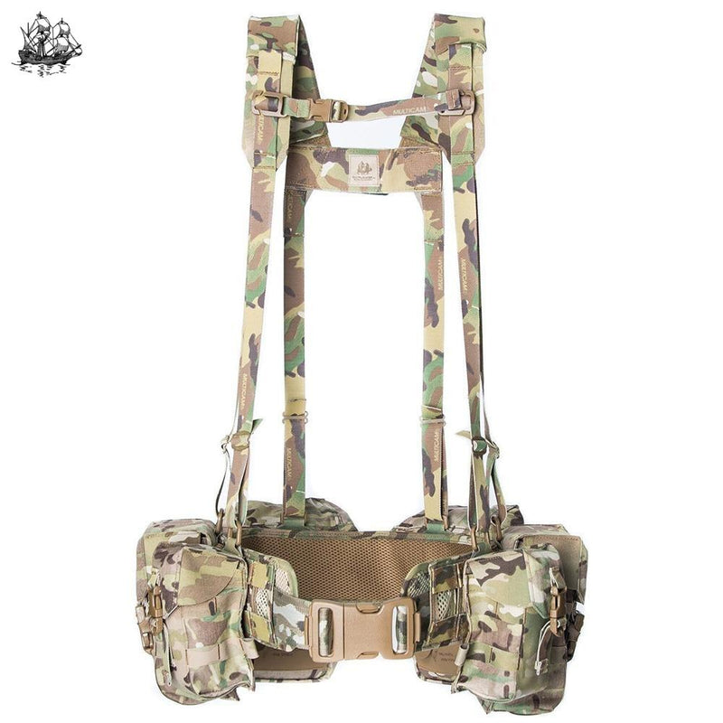 Jungle Kit Multicam / 1. 5.56 General Purpose - (4) Pouches (2) Canteen Gp X-Small: 28 32 Chest Rigs