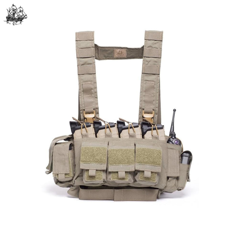 Le/active Shooter Chest Rig Coyote Brown / Standard H-Harness Rigs