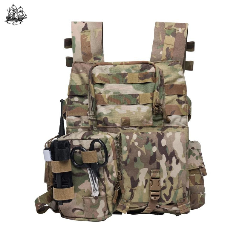 Pusher Back Panel Multicam Bags