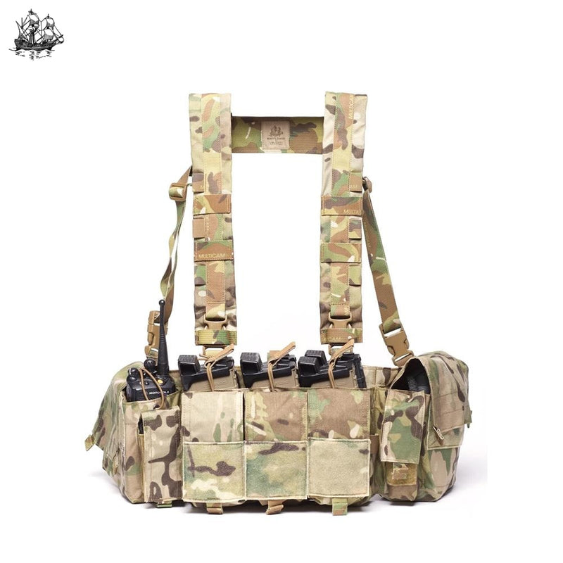 Recce Chest Rig (Hk417) Coyote Brown Rigs