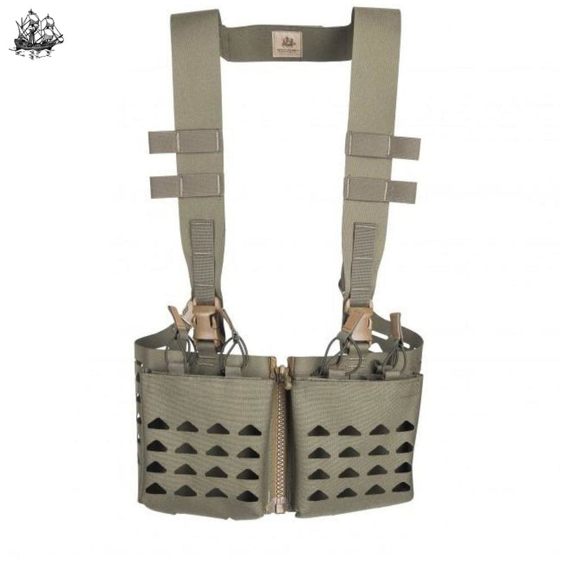 Ultra-Lite Split Front Chest Rig Coyote Brown Rigs