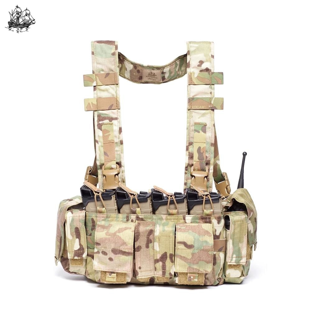 Uw Chest Rig Gen Iv Coyote Brown / Standard H-Harness Rigs
