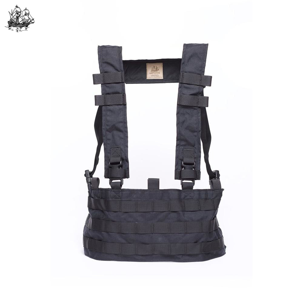 Uw Chest Rig Qd Coyote Brown / Standard H-Harness Rigs