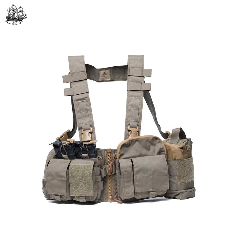 Uw Chest Rig Split Front Gen V Coyote Brown / Standard H-Harness Rigs