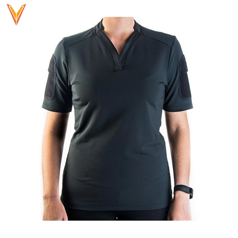 Womens Boss Rugby Short Sleeve Apparel