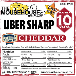 10 Year Old Uber Sharp Cheddar