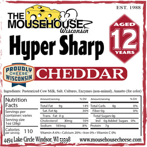 12 Year Hyper Sharp Cheddar