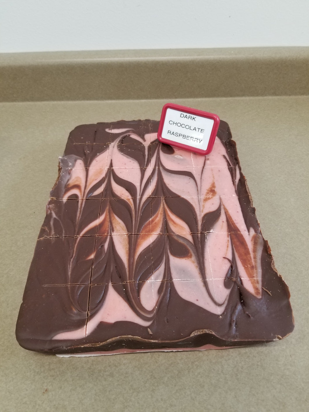 Dark Chocolate Raspberry Fudge (1/2 Pound)