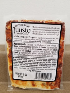 Juusto with Jalapeno Peppers, 6 oz
