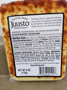 Juusto Baked Cheese, 6 oz