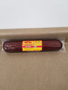 Swiss Family Beef Summer Sausage, 18oz