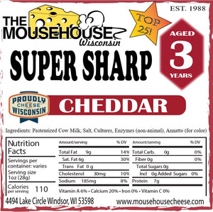 3 Year Old Super Sharp Cheddar