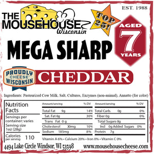 7 Year Old Mega Sharp Cheddar