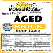 Load image into Gallery viewer, Aged Brick (Beer Kase)