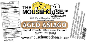Aged Asiago Cheddar Spread, 12 oz