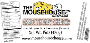 Apricot Honey Cheddar Spread, 15 oz