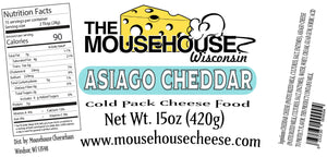 Asiago & Cheddar Spread, 15 oz