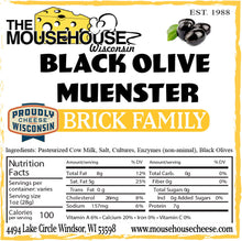 Load image into Gallery viewer, Black Olive Muenster