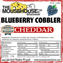 Load image into Gallery viewer, Blueberry Cobbler Cheddar