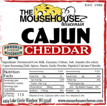 Load image into Gallery viewer, Cajun Cheddar