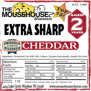 2 Year Old Extra Sharp Cheddar