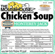 Load image into Gallery viewer, Chicken Soup Monterey Jack
