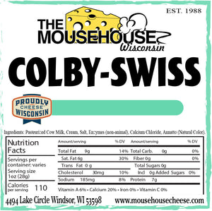 Colby Swiss, 12 ounces