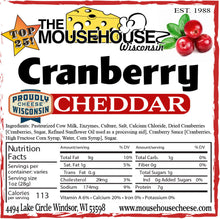 Load image into Gallery viewer, Cranberry Cheddar