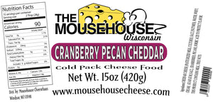 Cranberry & Pecan Cheddar Spread, 15 oz