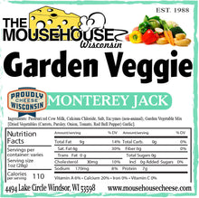 Load image into Gallery viewer, Garden Veggie Monterey Jack