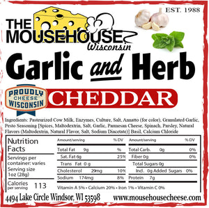 Garlic & Herb Cheddar