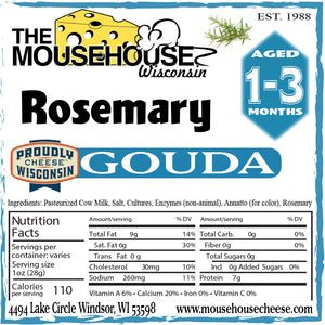 Rosemary Gouda, 14 ounces