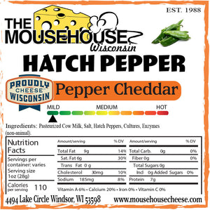 Hatch Pepper Cheddar