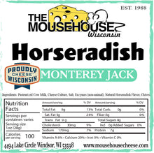 Load image into Gallery viewer, Horseradish Monterey Jack